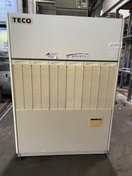 (大台北)中古東元7.5RT水冷箱型機3φ220V(編號:TE1091001)~出租/買賣*發電機冷氣回收買賣*