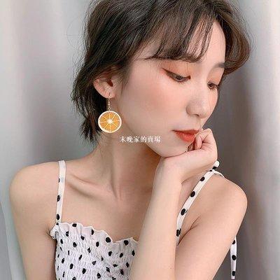 末晚家的賣場~夏天的耳環2020新款潮糖果色耳環韓國氣質清新網紅顯臉瘦夏季耳飾
