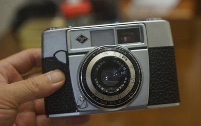 【售】經典個人收藏Agfa SILETTE-II 45mm F2.8 底片 估焦相機Made in Germany