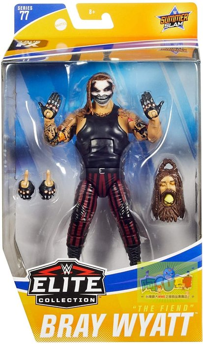 ☆阿Su倉庫☆WWE Bray Wyatt The Fiend Elite 77 Figure 詭異家族面具款人偶公仔