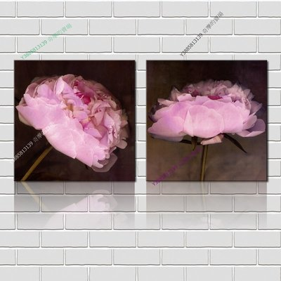 【40*40cm】【厚1.2cm】印象花卉-無框畫裝飾畫版畫客廳簡約家居餐廳臥室牆壁【280101_171】(1套價格)