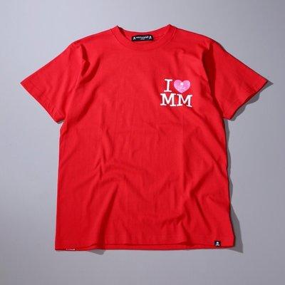 【日貨代購CITY】2018 MASTERMIND JAPAN x Marilyn Monroe 聯名 短T 紅色 現貨
