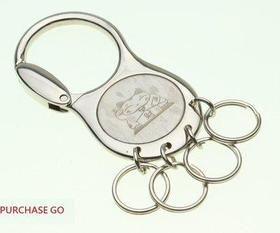 ☆Purchase GO☆ ~ 按壓式鎖圈 鎖匙圈 鑰匙圈 鑰匙扣~ (招財貓)