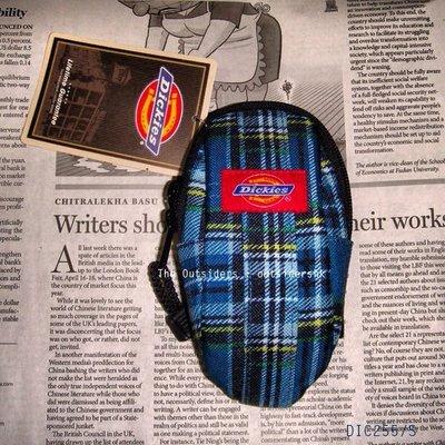 美國 Dickies 保護袋 S號 藍格 DIC255 可裝 iphone4 4S 相機袋電話套相機套 gregory padded case 同款