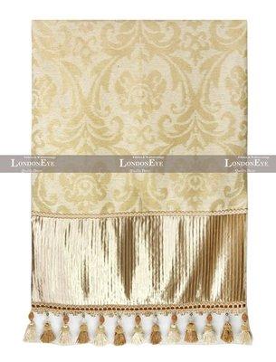 【 LondonEYE 】法夏系列 VERSAILES 華麗古典X歐式奢華床上蓋毯X緹花流蘇訂製床尾毯/床旗 豪宅