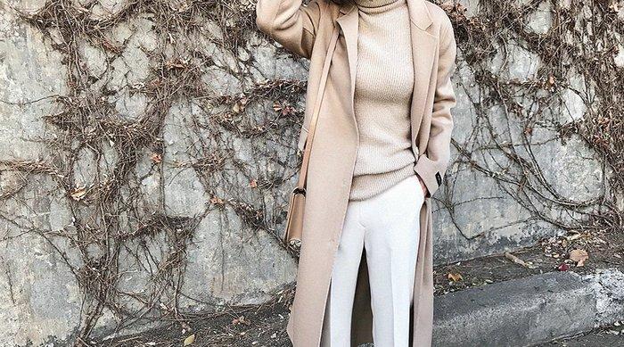 EVA精緻坊【韓國衣飾】【N9羊毛高質感長大衣】 現貨