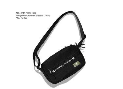 全新 REPUTATION X AES Pouch Bag R.P.T.N 側背包 斜背
