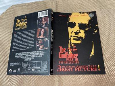 【李歐的二手洋片】片況幾乎全新外紙盒裝  艾爾帕西諾 THE Godfather 教父 3 DVD 下標就賣