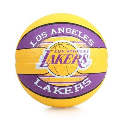 SPALDING 湖人 Lakers  籃球 (戶外 NBA 隊徽球 斯伯丁【99301715】≡排汗專家≡