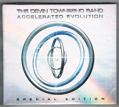 西洋CD-THE DEVIN TOWNSEND BAND:ACCELERATED EVOLUTION-2CD