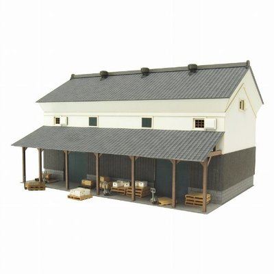 日本正版 Sankei 1/80 倉庫1 MK05-46 紙模型 需自行組裝 日本代購