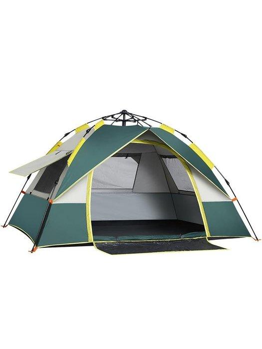 探險者全自動帳篷戶外防暴雨3-4人加厚防雨雙人2單人野營野外露營【移動雜貨鋪】