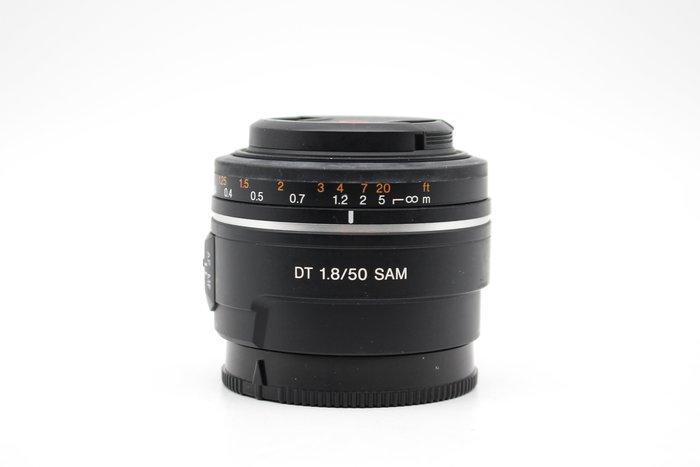 【高雄青蘋果3C】Sony DT 50mm f1.8 SAM SAL50F18 二手 人像鏡 單眼鏡頭 #29770
