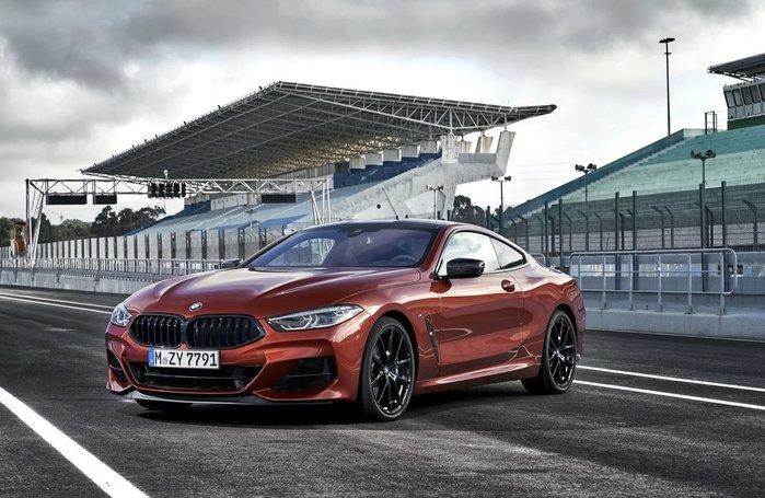 【樂駒】BMW G15 M850i 原廠 728M 20吋 黑色 輪框 改裝 底盤 視覺系
