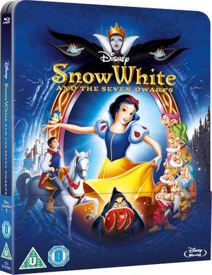 【BD藍光】白雪公主:幻彩磁貼限量鐵盒版Snow White and the Seven Dwarfs(英文字幕)
