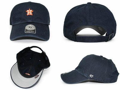 【血拼妞】47 BRAND HOUSTON ASTROS ABATE MLB 休士頓太空人 小圖 棒球帽 老帽