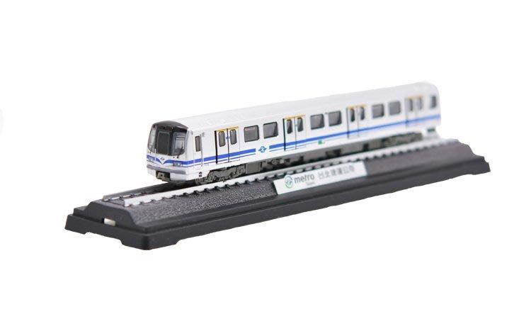 TRAIL 鐵支路 台北捷運381型電聯車 NS3517 紀念車