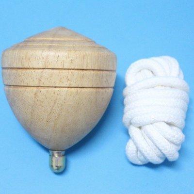 台灣製陀螺 (特大)直徑約95mm 木質陀螺/一袋10個入{定250} 彩繪陀螺 實木陀螺 台灣童玩~美