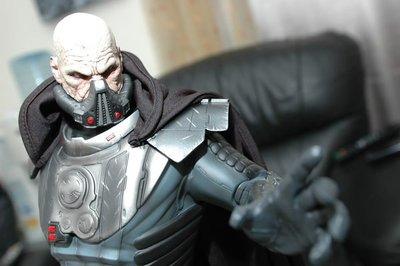 【烏龍1/2】sideshow 星際大戰 Star Wars 舊共和國武士 Darth Malgus 達斯馬格斯  PF 雕像