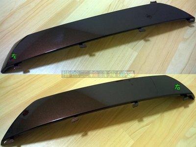 光陽 公司品【側蓋-下 深棕】LHJ8 MANY 125 可可 ENM 車殼 H殼、手柄前蓋、側條、後架、面板 單邊賣