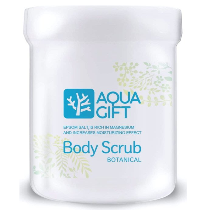 《FOS》日本製 AQUA GIFT 泡沫磨砂膏 身體 去角質 天然 無負擔 保養 必買 金賞 2020新款 熱銷第一