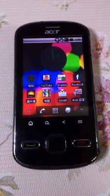 宏碁Acer beTouch E140 2.8吋智慧型手機,320萬畫素相機,除電話功能故障,其餘功能正常,只賣350元 南投縣