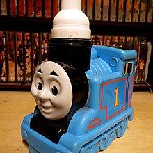 【 金王記拍寶網 】早期湯瑪士小火車罐裝沐浴洗髮瓶 (正品) 純懷舊素材擺件 一面 罕見稀少 一件