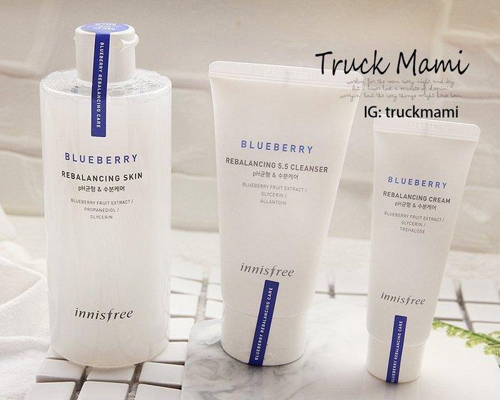推薦【1906】正品 innisfree  藍莓 5.5 平衡柔膚水350ml 平衡乳液 洗面乳 化妝水