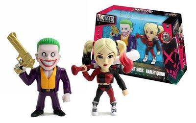 JADA 合金公仔 DC 自殺特攻隊 小丑&小丑女哈莉奎茵