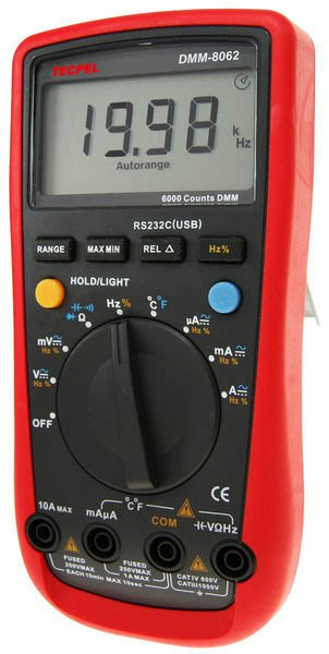 TECPEL 泰菱》DMM 8062 USB 交直流三用電表 溫度測量 電錶 DMM-8062 USB接電腦 儲存
