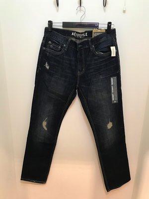 Aeropostale 男 刷色 刷破 Skinny牛仔褲 尺寸34x32 全新 現貨