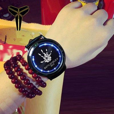 手錶 戰地5 周邊手表battlefield 5游戲同款led觸摸屏防水手表學生個性