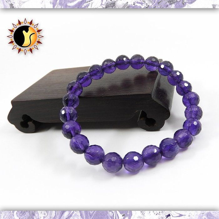 ☼§太陽貓水晶§☼【智慧結晶】學習必備 切割面 紫水晶 Amethyst
