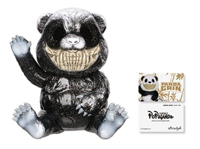 [iShoes正品] Ron English Mindstyle Panda Grin 熊貓 微笑 公仔 限量