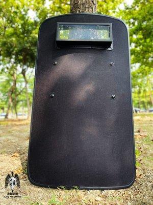 [攻衛] NIJ-STD-Level IIIA 防彈盾牌 具監視窗  (Ballistic Shield)宅配免運