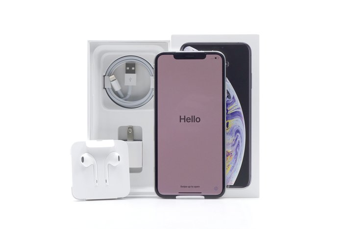 【台中青蘋果】Apple iPhone XS Max 銀 256G 僅拆驗機 6.5吋 蘋果手機 #32307