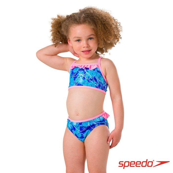 ~有氧小舖~SPEEDO 幼童二件式比基尼泳衣 正版冰雪奇緣 艾莎 Elsa