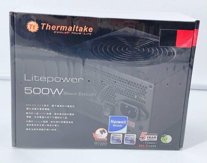 曜越 Thermaltake LT-500 500W  電源供應器 靜音風扇