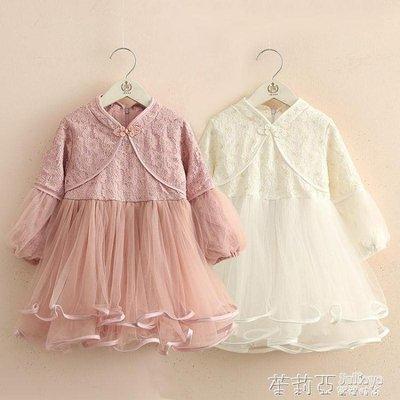 寶寶蕾絲洋裝新款女童童裝兒童旗袍裙子