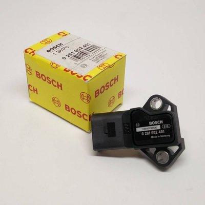 【汽車零件王】 BOSCH MAP Sensor 感測器 歧管壓力感知器 @ Audi Q7 / VW Golf R