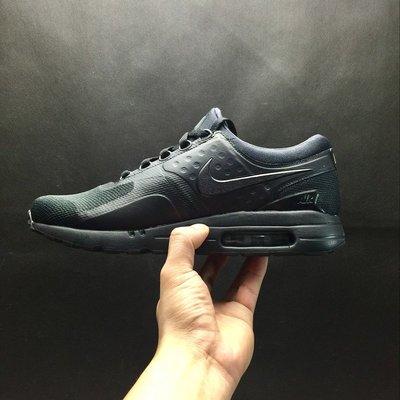 【線上販殼】Nike AIR MAX ZERO QS 經典 氣墊 休閒 跑步鞋 黑魂