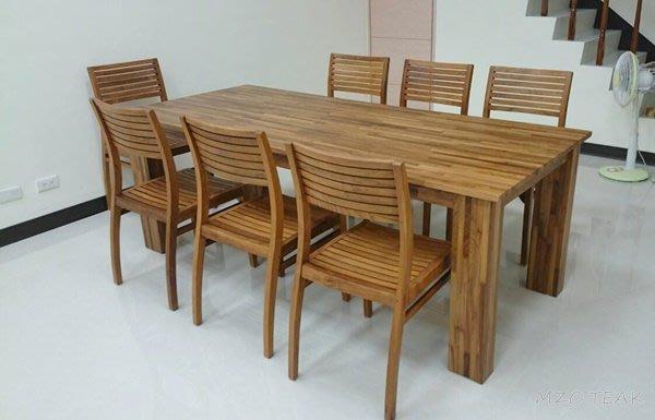 【美日晟柚木家具】CH 08 柚木椅.書桌椅.餐椅 休閒椅.全柚木家具-柚木坐椅(全原木)