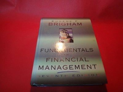【愛悅二手書坊 05-36】Fundamentals of Financial Management: