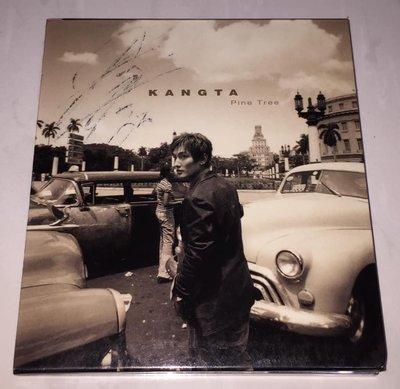 H.O.T. 安七炫 Kangta 2002 望情樹 Pine Tree 親筆簽名 台灣紙盒版 CD 附歌詞 中譯 DM