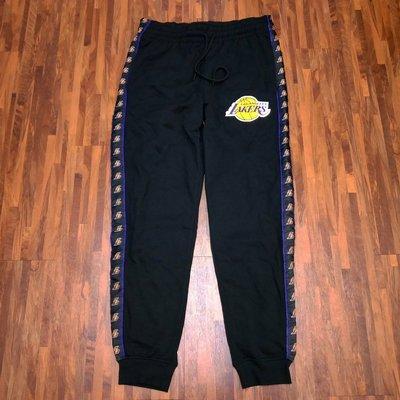 正品 NBA LAKERS 湖人隊 休閒運動褲 嘻哈 HIP HOP饒舌 MJF 尺寸31~34腰