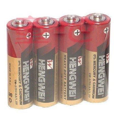 Hengwei(無尾熊)3號環保碳鋅電池(4顆入) /4號環保碳鋅電池(4顆入) ~加購專區◎童心玩具1館◎