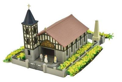 [玩具共和國] TOMYTEC 319252 山上的教會