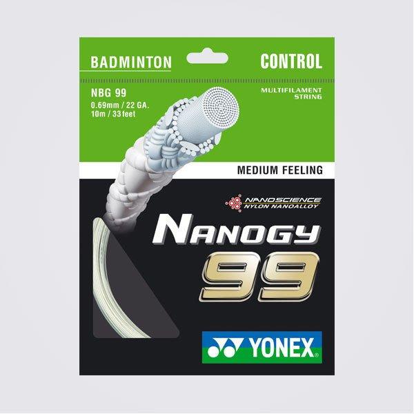 Ψ 山水體育用品店 Ψ【羽球線】YONEX N BG99 (NBG-99)  白色