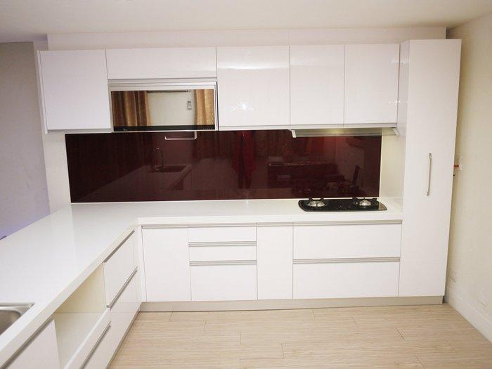 【雅格櫥櫃】工廠直營~流理台、廚具、吧檯、結晶鋼烤、三星人造石、升降櫃、烤漆玻璃