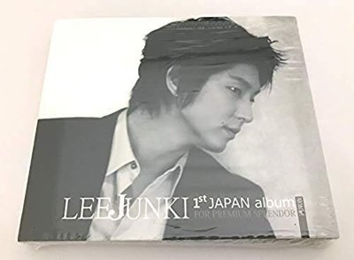 李準基 LEE JUN KI JOON GI 1st JAPAN album 通常版 FOR PREMIUM SPLENDOR CD 訂